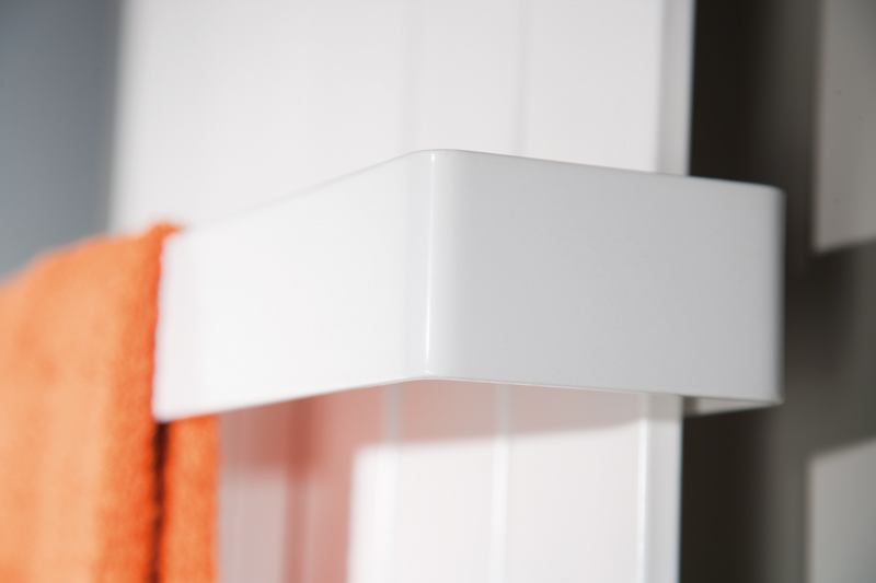 hsk handtuchhalter f r atelier line badheizk rper 650 mm farbe weiss. Black Bedroom Furniture Sets. Home Design Ideas