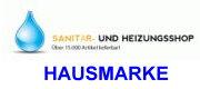 Hausmarke Sanitär- und Heizungsshop Logo