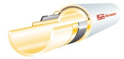 Roth Systemrohr Alu Laserplus 20 Mm 100 M Lang Ohne Dammung