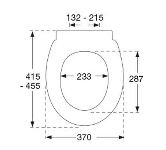 pressalit wc sitz concordia werksnummer 544000 d05999. Black Bedroom Furniture Sets. Home Design Ideas