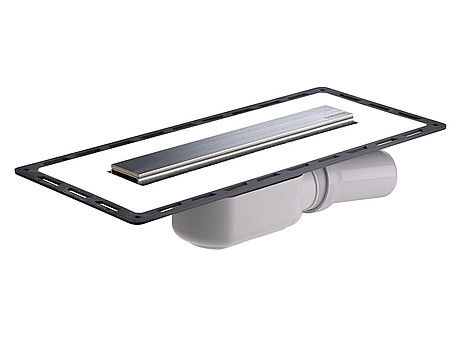 dallmer duschrinne tistoline plan design 300 waagrecht bh. Black Bedroom Furniture Sets. Home Design Ideas