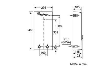 Siemens Durchlauferhitzer Elektronisch Geseteuert De2124527