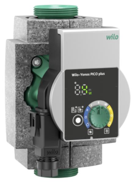 wilo yonos pico plus 25 1 6 energy savings pump 4215505. Black Bedroom Furniture Sets. Home Design Ideas
