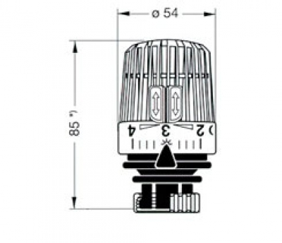 heimeier thermostatkopf k ohne nulleinstellung. Black Bedroom Furniture Sets. Home Design Ideas