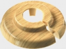 Heater rosette Beech-wooden decoration